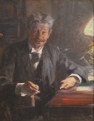 Georg Brandes, skiss av P.S. Kröyer 1900, Wikipedia