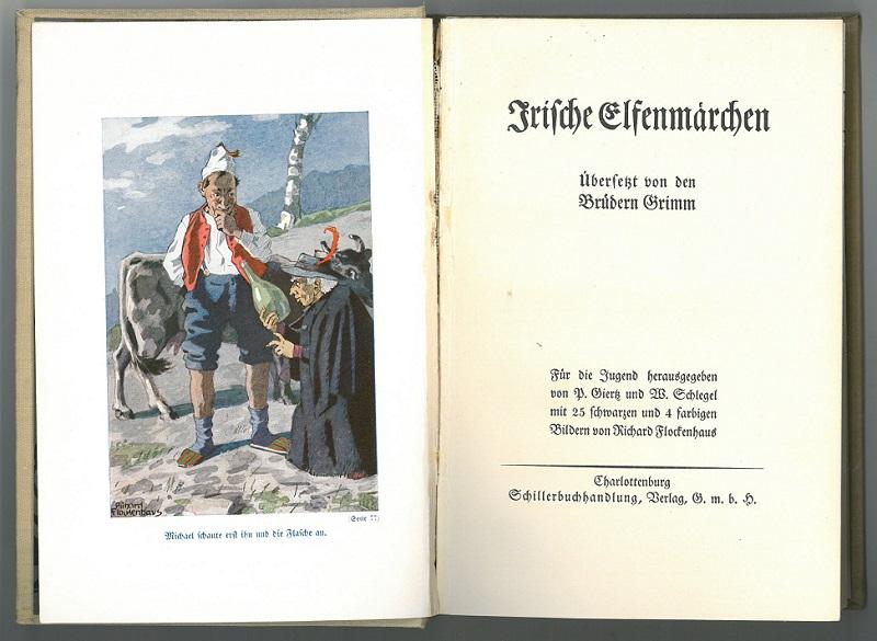 Jacob Grimm Wilhelm Grimm Thomas Crofton Croker Richard Flockenhaus Elfenmärchenrchen